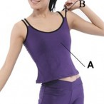 FREE SHIPPING Double Straps Camisole Top Dance