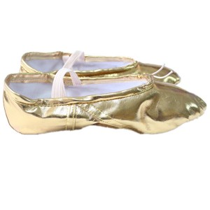 Retail Ready-to-ship Bronze Ballet Shoes - Gold