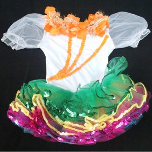 FREE SHIPPING  Ready-to-Ship Flower Tutu Costume