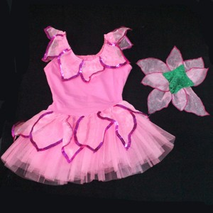 FREE SHIPPING Ready-to-ship Flower Costume for Kids