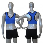FREE SHIPPING Microfiber Fabric Crop Top for Ladies and Girls Dance