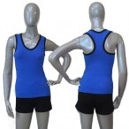 FREE SHIPPING Microfiber Racer Top for Ladies and Girls Dance