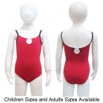 FREE SHIPPING Kids Three Tone Camisole Leotard