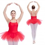 FHDW DANCE REE SHIPPING Ladies Camisole Leotard with tutu
