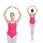 HDW DANCE FREE SHIPPING Shiny Nylon/Lycra Double Straps Camisole Leotard