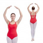 FREE SHIPPING Camisole Leotard with Back Straps
