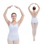 FREE SHIPPING Camisole Leotard with Double Elastic Straps