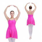 FREE SHIPPING Modern Dance Skirts with Asymmetrical Edges