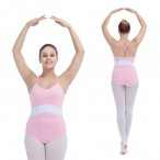 FREE SHIPPING Two-tone Camisole Leotard