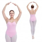 FREE SHIPPING Camisole Leotard with Medium Back All Sizes Available
