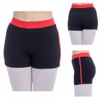 FREE SHIPPING Ladies Girls Two Tone Tight Dance Shorts