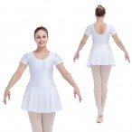 HDW DANCE FREE SHIPPING Cap Sleeve Nylon/Lycra Skirts