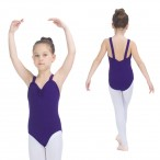 FREE SHIPPING Wide Straps Leotards with Pinch Front and Back
