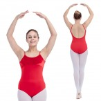 FREE SHIPPING Velvet and Cotton/Lycra Camisole Leotard