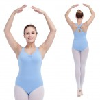 FREE SHIPPING Wide Straps Cross Back Leotard