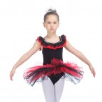 FREE SHIPPING Sleeveless Girls Ballet Dance Tutu Two Tone