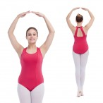 FREE SHIPPING Halter Leotard with Buckled Back