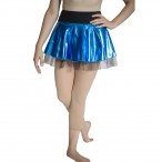 HDW DANCE FREE SHIPPING Metallic Tulle Skirts