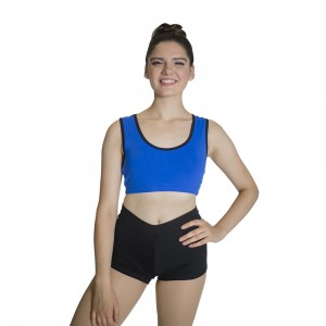 HDW DANCE FREE SHIPPING Microfiber Fabric Crop Top for Ladies and Girls Dance
