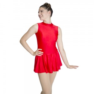 HDW DANCE Shiny Nylon/Lycra Tank Leotard Dress