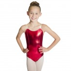 HDW DANCE FREE SHIPPING Metallic Leotard with Nude Straps