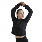 HDW DANCE FREE SHIPPING Long Sleeve Cropped T-Shirt