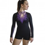 HDW DANCE FREE SHIPPING Long Sleeve Dance Biketard