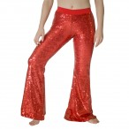 HDW DANCE Shiny Sequins Jazz Dance Long Pants